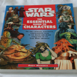 Star Wars Essential Guide to Characters by Andy Mangels large with drawings